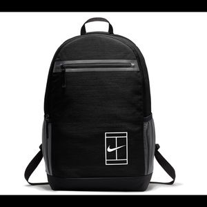 Nike Court Tennis Backpack Black and White